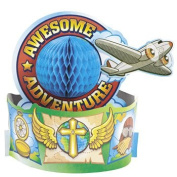 Awesome Adventure Centrepiece - Vacation Bible School & Awesome Adventure