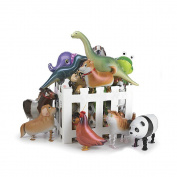 (Price/Dozen)GOGO Walking Pet Balloons, Assorted Animals, Party Favours