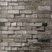 Dark Brown Brick Background Paper