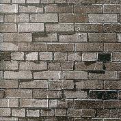 Dark Brown Brick Background Paper