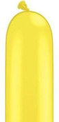 Costumes for all Occasions PA50 Balloon 260q Yellow Solid 100 Ct