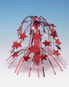 Centrepiece, Mini Cascade Red Stars