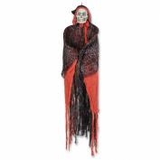 Beistle Hooded Skeleton Creepy Creature, 5-Feet