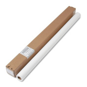 Tablemate Table Set Plastic Banquet Roll, Table Cover, 100cm x 100', White