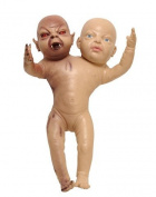 Dillon Importing Co. Demon Twin Baby Prop Multicoloured One Size