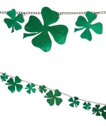 BETHANY LOWE Chained Green Shamrock Garland