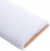 Koyal Wholesale 40-Yard Tulle Bolt, 140cm , White