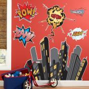 Superhero Comics Giant Wall Decals