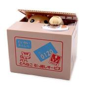 Japan Stealing Money Cat Money Bank