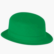 Green Velour Derby Hat