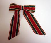 Bulk Buys Large Fabric Christmas Ribbon - Case of 72