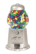 American Gumball Machine AGM11 Silver 28cm . old fashion gumball machine