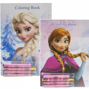Disney Frozen Colouring Books Elsa and Anna