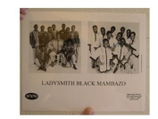 Ladysmith Black Mambazo Lady Smith Press Kit and Photo