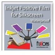 Waterproof Inkjet Positive Film For Silk Screen 22cm x 28cm Sample Pack