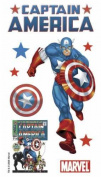 Marvel 3-d Stickers-captain America