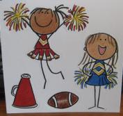 Cheerleader Die-cut Shapes // Me & My Big Ideas