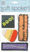 Me & My Big Ideas Soft Spoken 3 Dimensional Embellishments-Happy Halloween