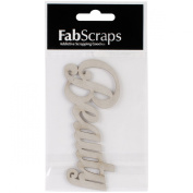 Shabbylicious DC60 002 Fabscraps Beauty Die Cut for Scrapbooking