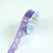 Fashion Decoration ! DIY Lace Hollow Stationery Stickers Decorative