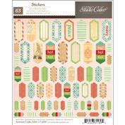 Wonderland Cardstock Stickers 15cm x 18cm -Accent & Phrase