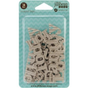 Corrugated Shapes 24/Pkg-Words 1