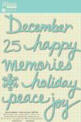 Jillibean Soup Wise Words Blue Holidays Stickers