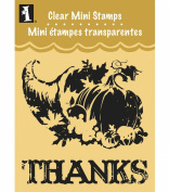 Inkadinkado Clear Mini Stamps, Cornucopia