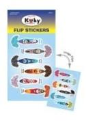 Flip Stickers - Blue