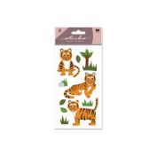 Sticko Stickers - Tiger Glitter Classic Stickers
