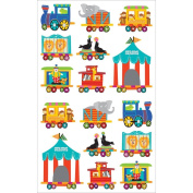 Mrs. Grossman's Stickers-Circus Train