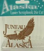 Alaska Laser Scrapbooking Craft Die Cut Juneau Eagle
