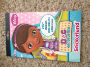 Disney Jr. Doc McStuffins Stickerland Sticker Book