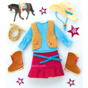 American Girl Crafts Western Style Stickers