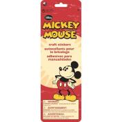 Sandylion Mickey Flip Pack Craft Sticker, 10cm by 30cm