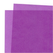 Translucent Coloured Vellum- Violet 48cm x 60cm Sheet