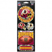 Washington Redskins Prismatic Stickers