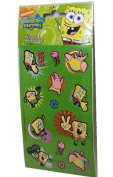 Spongebob Squarepants Karate Scrapbook Stickers