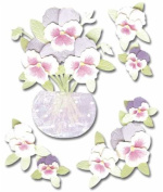 Jolee's Boutique Dimensional Stickers - Pansies