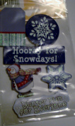 American Traditional Stickers - Chipboard - Winter Fun