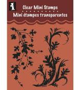 Inkadinkado Clear Mini Stamps, Fall Flourish