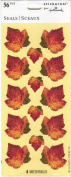 Sparkle Leaves Scrapbook Stickers