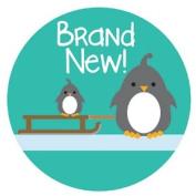 Lucy Darling Shop Newborn Baby Sticker - Gender Neutral - Penguin