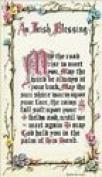 Rosarybeads4u Irish Blessing Verse Prayer Card In Plastic Wallet 8.3cm X 13cm El