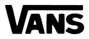 Vans Logo Vinyl Sticker Decal Decal-White-15cm