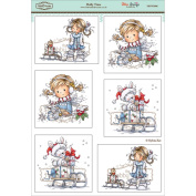 """Wee Topper Sheet 8.3""""X12.2"""" (211mm X 310mm)-Holly Time"""