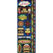 Signature Series 2012 Cardstock Combo Stickers 11cm x 30cm -Las Vegas