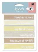 Jolee's - I Do Wedding Collection - Forever in Love Woven Labels