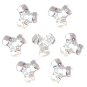 Crystal Tri-Shaped Beads