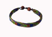 Asian Hippie Wristband Blue Green Brown Reggea Line Thai Bracelet Vintage Style Fashion